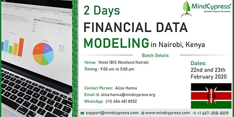 Financial Data Modeling 2 Days Training by MindCypress at Nairobi tickets