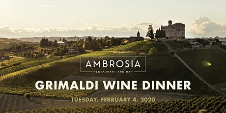 Dinner with Grimaldi Winery tickets