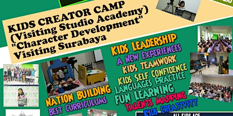 Superkids Film Camp/character developm, Visiting Studio Academy (Surabaya) tickets
