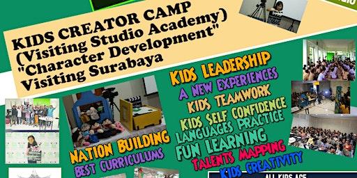 Superkids Film Camp/character developm, Visiting Studio Academy (Surabaya)