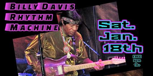 Live: Billy Davis Rhythm Machine w/ Mighty Michael