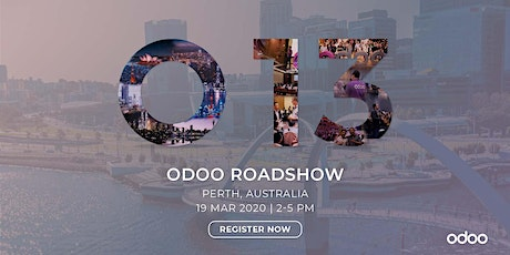Odoo Roadshow - Perth tickets