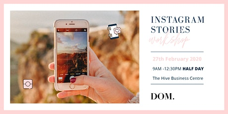 Instagram Stories Workshop I  with Dash of Milk Agency tickets