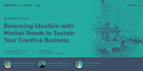Balancing Idealism with Market Needs to Sustain Your Creative Business tickets