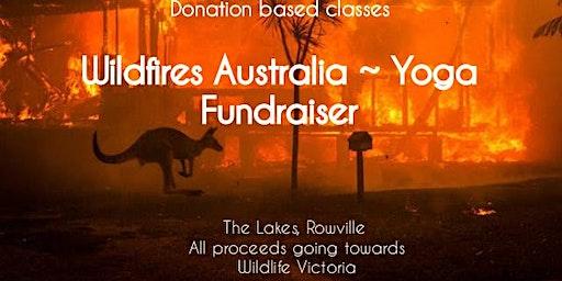 Wildfires Australia  - Yoga Fundraiser - Help Mother Nature Heal