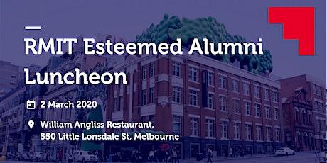 RMIT Esteemed Alumni Luncheon tickets