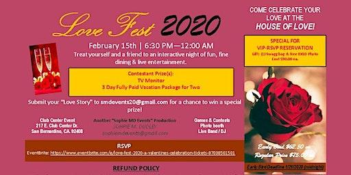 Love Fest 2020 - A Valentine's Celebration