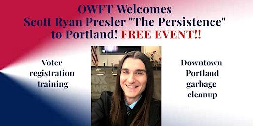 OWFT Welcomes Scott Ryan Presler to Portland