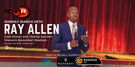 The Ray Allen Gala Dinner for Binar Sports tickets