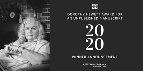 Dorothy Hewett Award 2020 tickets