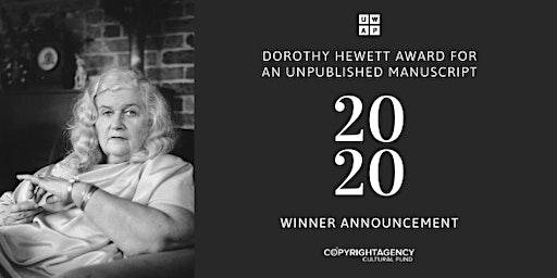 Dorothy Hewett Award 2020