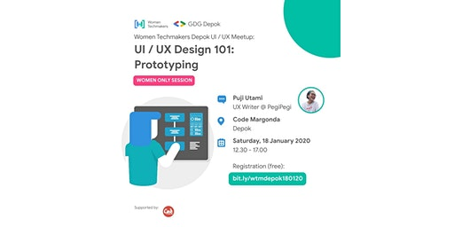 WTM Depok, UI/UX Design 101 : Prototyping