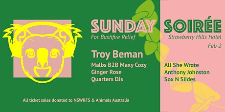 A Sunday Soiree For Bushfire Relief tickets
