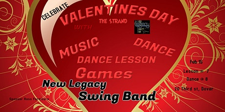 Valentine Party w/ New Legacy Swing Band tickets