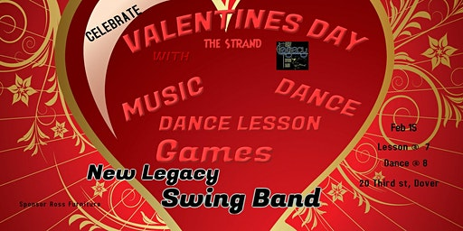 Valentine Party w/ New Legacy Swing Band