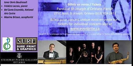 Récitals du dimanche St Joseph d'Orléans Sunday Recitals tickets
