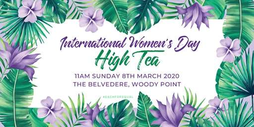 International Women's Day High Tea