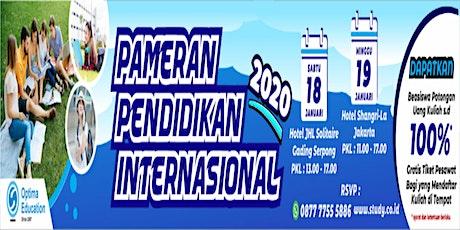 Pameran Pendidikan Internasional 2020 - Serpong tickets
