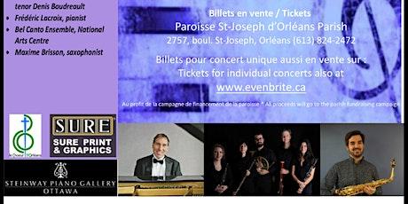 Récitals du dimanche St Joseph d'Orléans Sunday Recitals Mai /May 2020 tickets