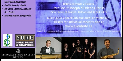 Récitals du dimanche St Joseph d'Orléans Sunday Recitals Mai /May 2020