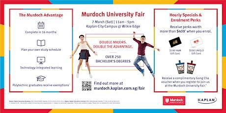Murdoch University Fair, Kaplan City Campus @ Wilkie Edge, L2  7 March 2020 tickets