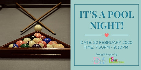 It's POOL night! (50% OFF) tickets
