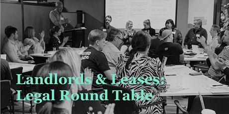 Landlords & Leases: Legal Round Table for Cafes & Restaurants - Sydney tickets