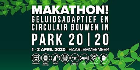 Makathon Smart Solutions voor circulair en geluidsadaptief bouwen tickets