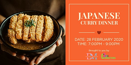 Japanese Curry Dinner (50% OFF) tickets