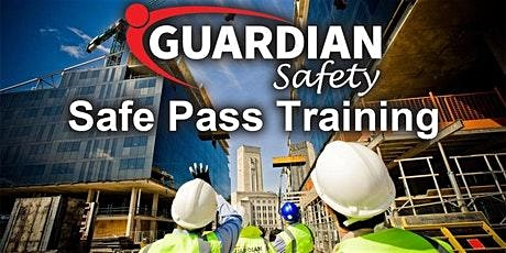 Safe Pass Training Dublin Tuesday 21st January