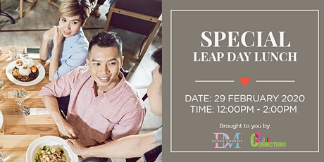 Special Leap Day Lunch (50% OFF) tickets