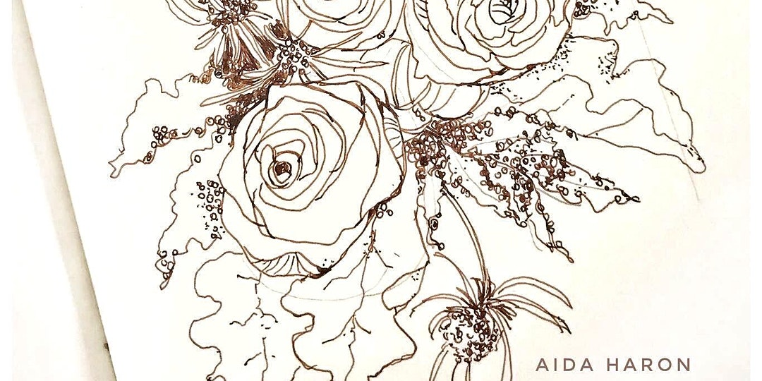 Journaling with Floral Art Workshop by Aida Haron