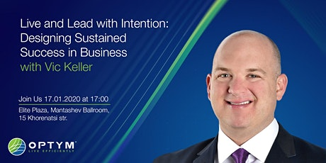 Live and Lead with Intention: Designing Sustained Success in Business tickets