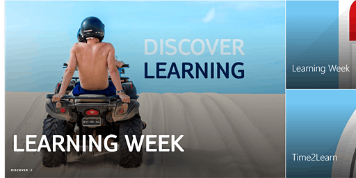 It's Time to Discover Learning (F2F Barcelona)