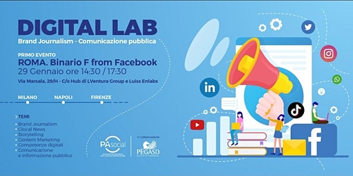 Digital Lab: Brand Journalism  - Comunicazione Pubblica