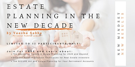 Estate Planning in The New Decade tickets