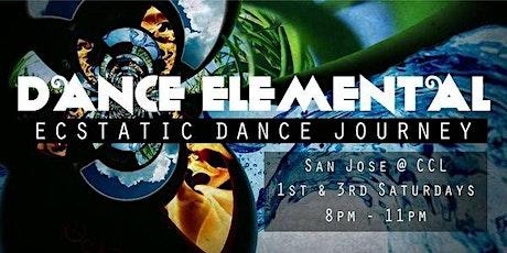 DANCE ELEMENTAL - Ecstatic Dance Journey - 3rd Saturdays tickets