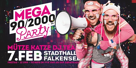 Mega 90/2000er Party ★ Mütze Katze DJ-Team Tickets
