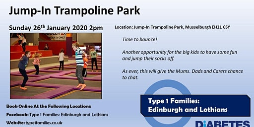 Type 1 Families -  Jump In Trampoline Park