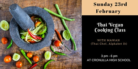 Vegan Thai Cooking Class tickets