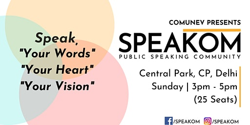 Speakom Delhi - Public Speaking Community