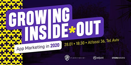 Growing Inside-Out: App Marketing in 2020 Tickets