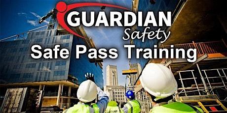 Safe Pass Training Dublin Thursday 30th January