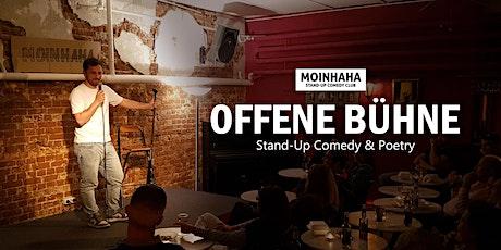 """19.01.20 """"Hamburg Offene Bühne"""" - Stand-Up Comedy und Poetry Tickets"""