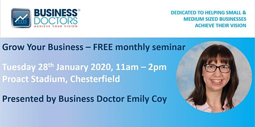GROW YOUR BUSINESS - Free Monthly Seminar