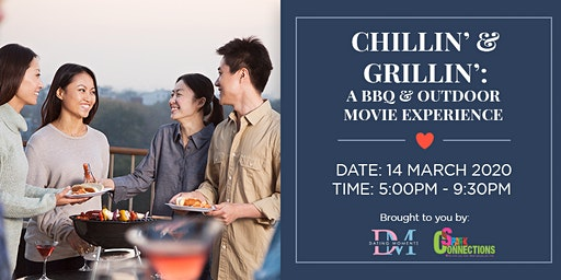Chillin' & Grillin': A BBQ and Outdoor Movie experience (50% OFF)