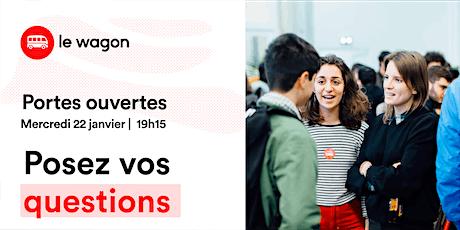 Session d'information le Wagon Bordeaux le 22 janvier - Apprendre à coder billets