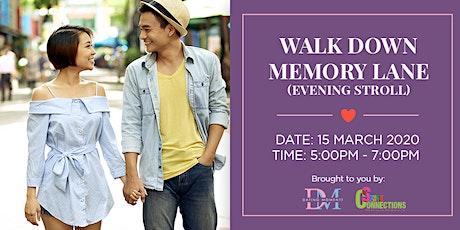 Walk through Memory Lane (Civic District Evening Stroll) (50% OFF) tickets
