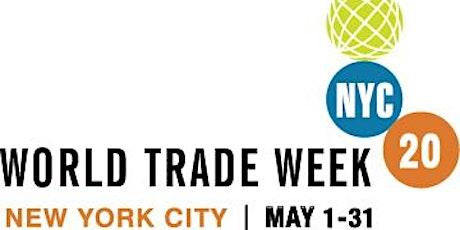 Partners Registration: World Trade Week NYC 15th Annual International Trade Awards Breakfast tickets