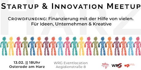 Startup & Innovation Meetup Harz Tickets